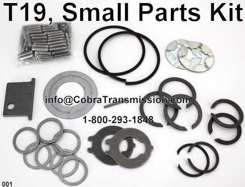 T19, Small Parts Kit