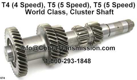 T4 (4 Speed), T5 (5 Speed), T5 (5 Speed) World Class, Cluster Sh