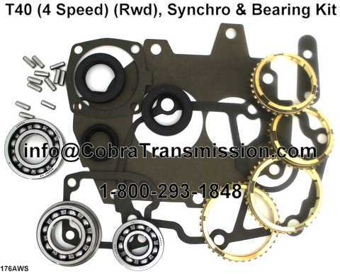 T40 Synchro, Bearing, Gasket and Seal Kit