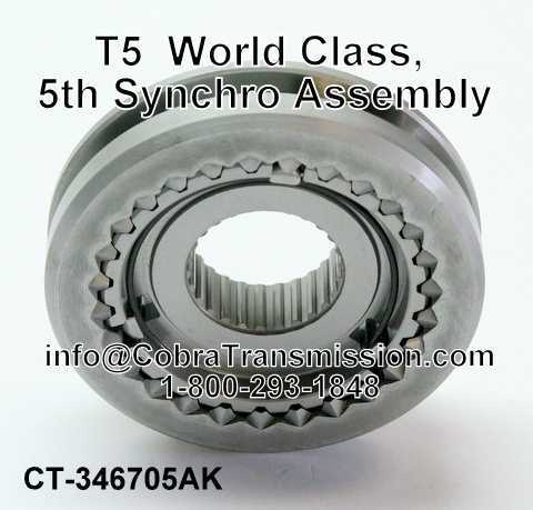 T5 (5 Speed) World Class, 5th Synchro Assembly
