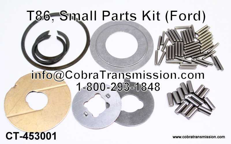 T86, Small Parts Kit