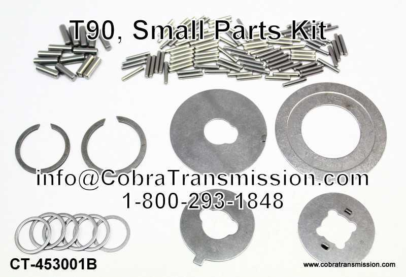 T90, Small Parts Kit