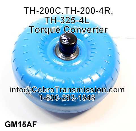 TH-200C, TH-200-4R, TH-325-4L Torque Converter, Lock Up