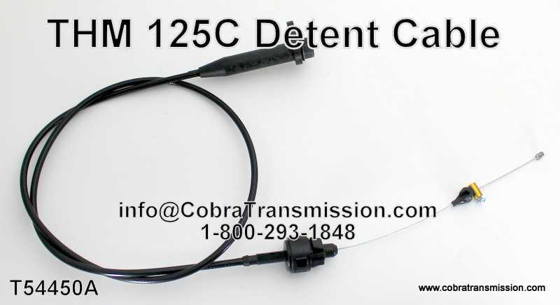 Thm 125 Detent Cable  T54450a