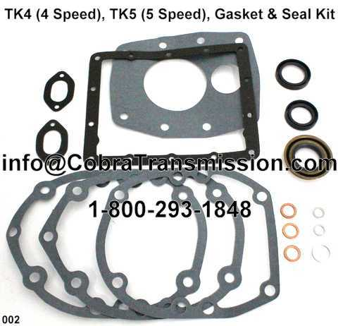 TK4 (4 Speed), TK5 (5 Speed), Gasket & Seal Kit