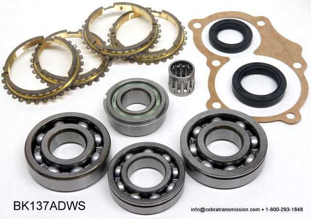 TK4D Synchro, Bearing, Gasket and Seal Kit