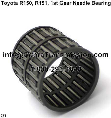 Toyota R150, R151, 1st Gear Needle Bearing