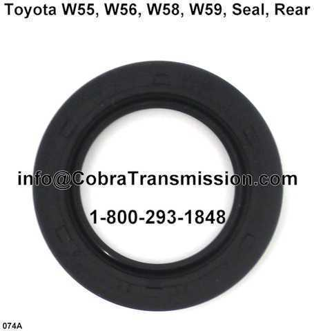 Toyota W55, W56, W58, W59, Seal, Rear