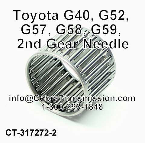 Toyota G40, G52, G57, G58, G59, 2nd Gear Needle