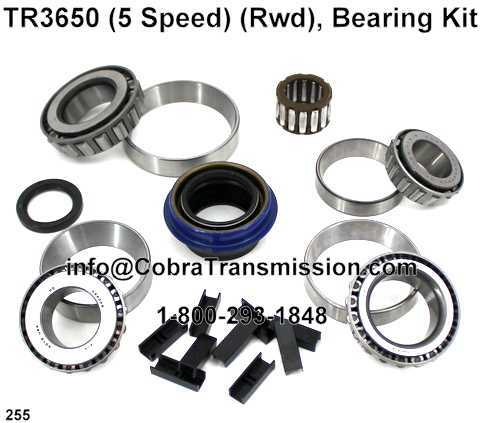 TR3650 Bearing, Gasket and Seal Kit