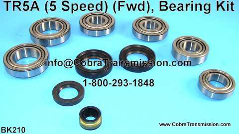 TR5A Bearing, Gasket and Seal Kit