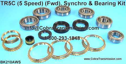 TR5C Synchro, Bearing, Gasket and Seal Kit