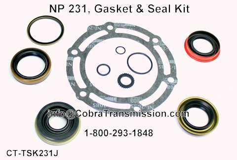 NP 231, Gasket & Seal Kit