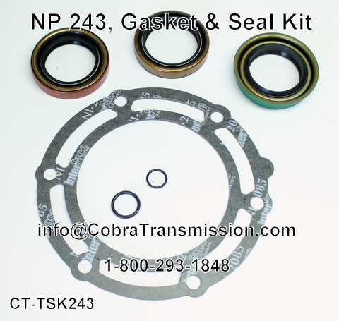 NP 243, Gasket & Seal Kit