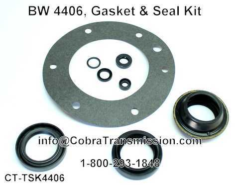 BW 4406, Gasket & Seal Kit