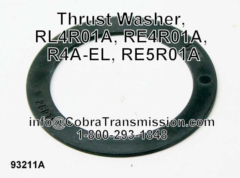 Thrust Washer, RL4R01A, RE4R01A, R4A-EL, RE5R01A