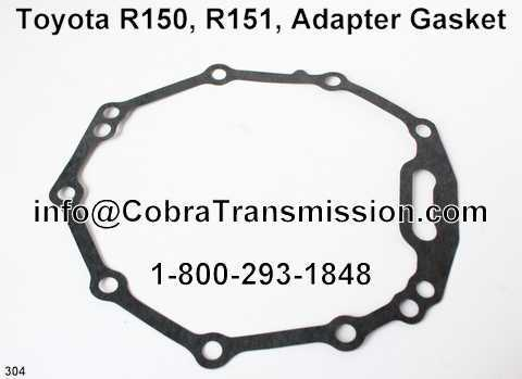 Toyota R150, R151, Adapter Gasket