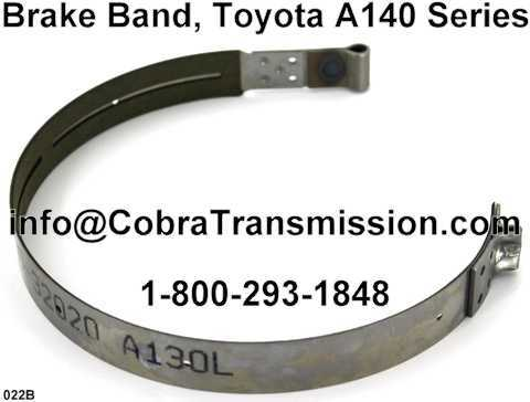 Brake Band, Toyota A140 Series