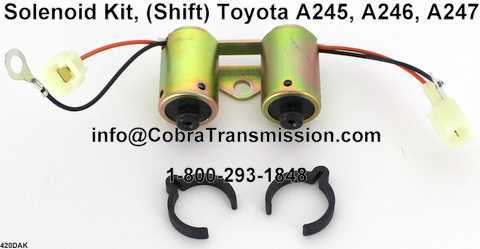 Solenoide, (Shift) Toyota A245, A246, A247