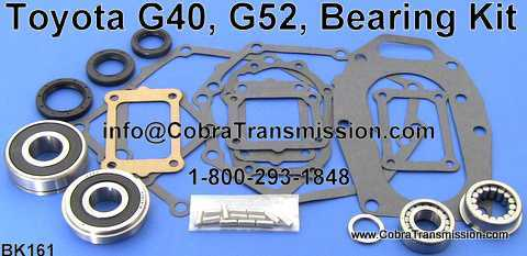 Toyota G40, G52, Bearing, Gasket and Seal Kit