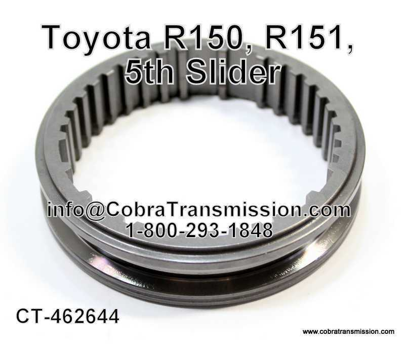 Toyota R150, R151, 5th Slider
