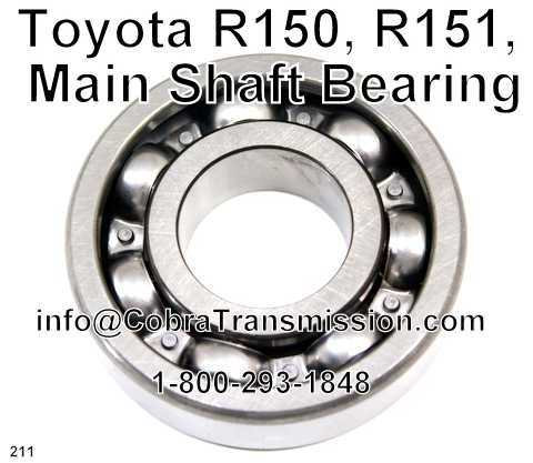 Toyota R150, R151, Main Shaft Bearing