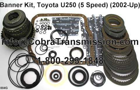 Banner Kit, Toyota U250 (5 Speed) (2002-Up)