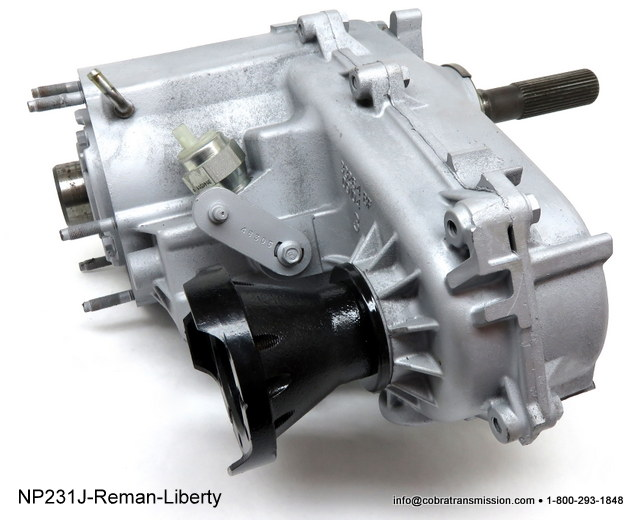 NP231 Jeep Liberty Transfer Case - 23 Spline