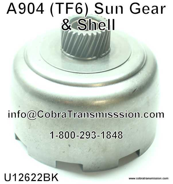 A904 (TF6) Sun Gear & Shell