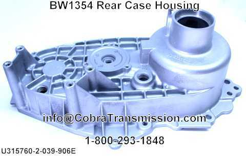 BW1354 Rear Case Housing