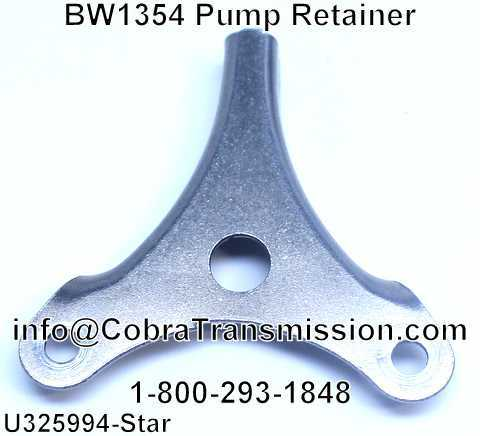 BW1354 Pump Retainer