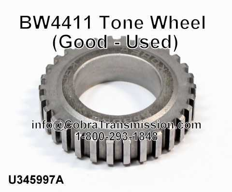 BW4411 Tone Wheel (Good - Used)