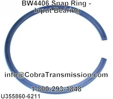 BW4406 Snap Ring - Input Bearing