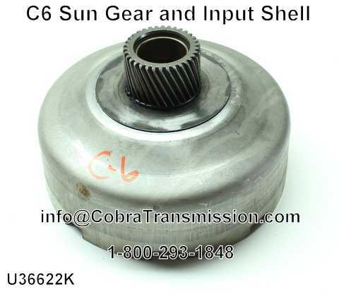C6 Sun Gear and Input Shell