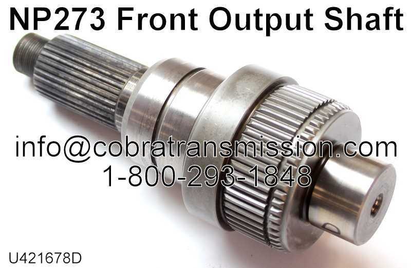 NP273 Front Output Shaft
