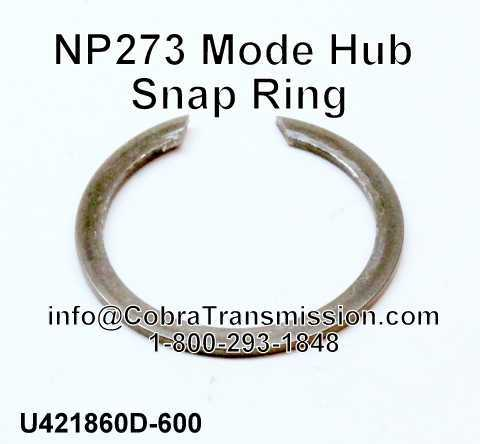 NP273 Mode Hub Snap Ring
