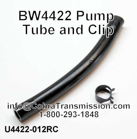 BW4422 Pump Tube and Clip