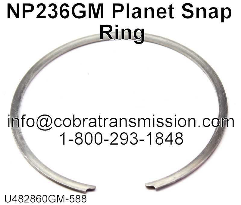 NP236GM Planet Snap Ring