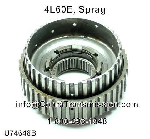 4L60E,Sprag Assembly, Forward Clutch (28/29 Element Dual Cage)