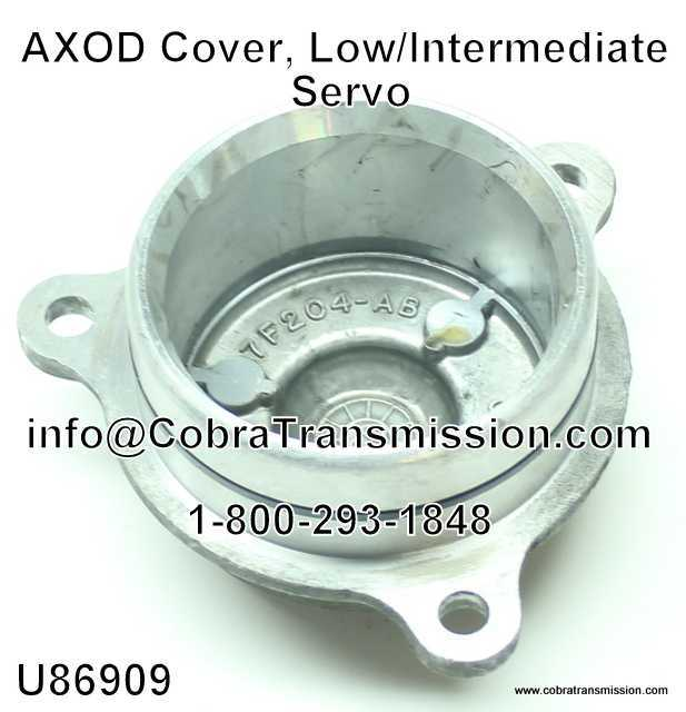 AXOD Cover, Low/Intermediate Servo