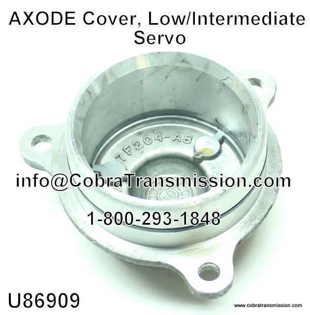 AXODE Cover, Low/Intermediate Servo