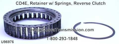 CD4E, Retainer w/ Springs, Reverse Clutch