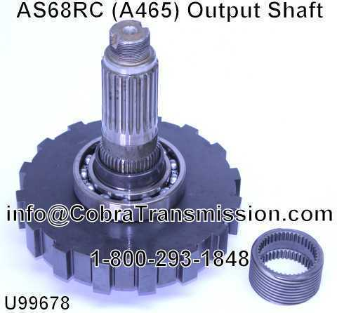 AS68RC (A465) Output Shaft