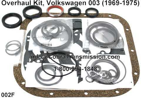 Overhaul Kit, Volkswagen 003 (1969-1975)