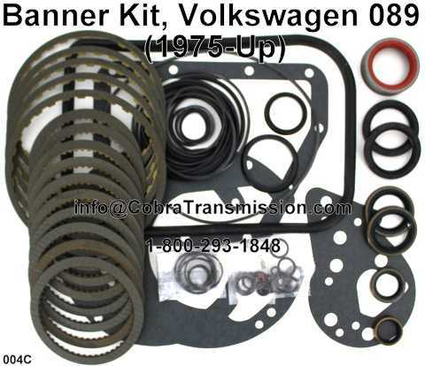 Banner Kit, Volkswagen 089 (1975-Up)