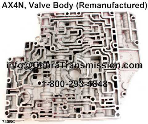 AX4N, Valve Body (Remanufactured)