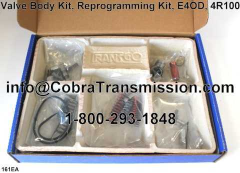 Valve Body Kit, Reprogramming Kit, E4OD, 4R100