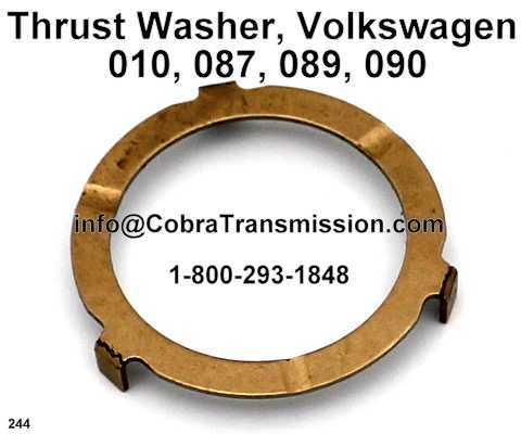 Thrust Washer, Volkswagen 010, 087, 089, 090