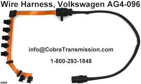 Wire Harness, Volkswagen AG4-096