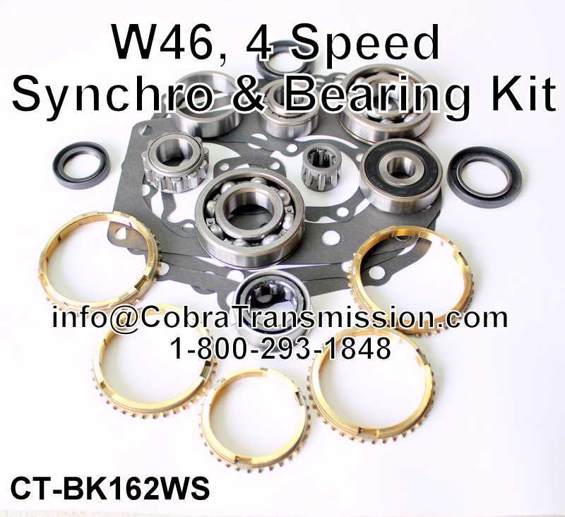 W46 Synchro, Bearing, Gasket and Seal Kit